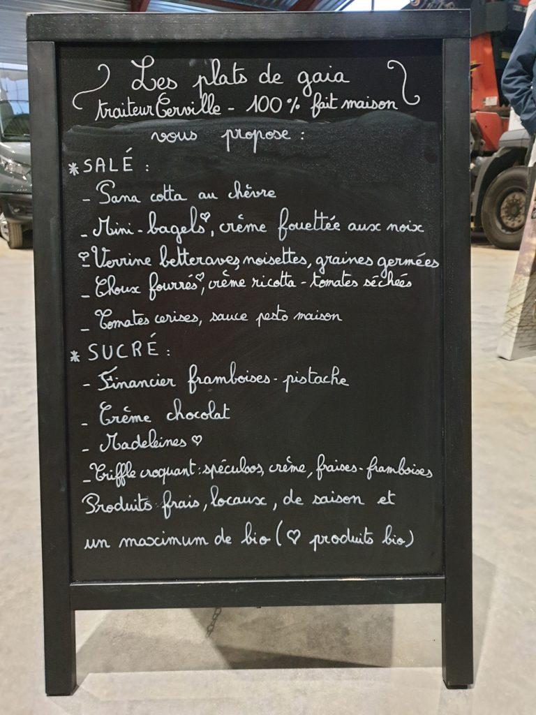 apéritif dinatoire menu
